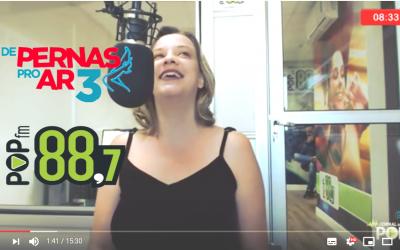 Rádio POP 88 FM entrevista Wendy Palo: Como o mercado erótico empodera mulheres